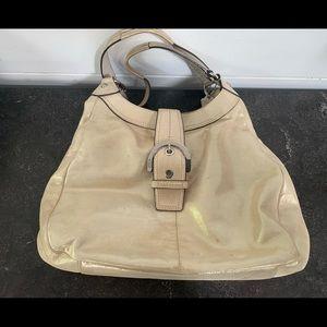 Coach shoulder bag with dust bag
